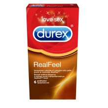 Durex Προφυλακτικά Real Feel 6τμχ