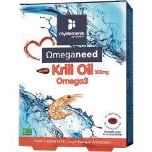 Isoplus Myelements - KRILL OMEGA3 30tabs