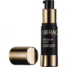 Lierac Premium Yeux Κρέμα ματιών γεμίσματος των ρυτίδων έκφρασης και των βαθιών ρυτίδων, μέγιστη τροφή και αντιγήρανση 10ml