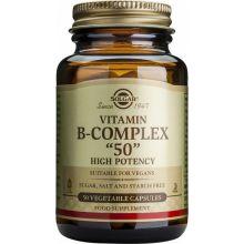Solgar B-50 Complex Συμπλήρωμα Διατροφής Βιταμίνης B 50cas