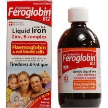 Vitabiotics Feroglobin B12 Συμπλήρωμα Διατροφής Σιδήρου και Βιταμινών για Ενήλικες και Παιδιά 200ml