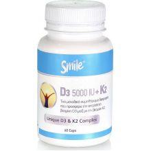 Am Health Smile Vitamine D3 5000UI & k2 100mg 60Caps