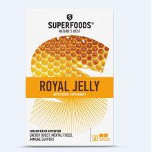 Superfoods Βασιλικός Πολτός 525mg Συμπλήρωμα Για Ενέργεια, Συγκέντρωση Και Ανοσοποιητικο  50caps