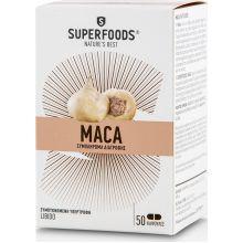 SuperFoods Maca 3000mg Συμπλήρωμα Υπερτροφων Για Τη Λιμπιντο