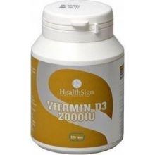 Health Sign Supplements Vitamine D3 2000UI 120 Tabs