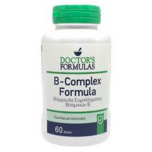 Doctor's Formulas B-COMPLEX Formula Φόρμουλα Συμπλέγματος Βιταμινών Β  60 Δισκία