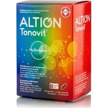 Altion Tonovit Multivitamin Με Q10, Ω3, Panax Ginseng Ολοκληρωμένο Πολυβιταμινουχο Σκεύασμα Για Την Τόνωση Του Οργανισμού 40 Caps