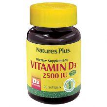 Natures Plus Vitamin D3 5000 IU 60softcaps