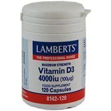 Lamberts Vitamin D 4000Iu 120Caps