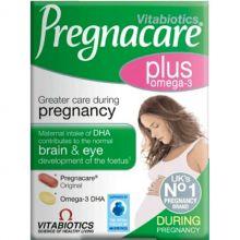 Vitabiotics Pregnacare Plus Omega 3 Ενισχυμένη Φροντίδα Στην Εγκυμοσύνη