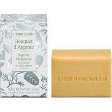 L'erbolario Silver Bouquet Perfumed Soap With Extracts