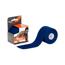 Tmax Kinisiology Tape Cototn Navy Blue 5.0cmx5m