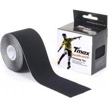 Tmax Kinisiology Tape Cototn Black 5.0cmx5m