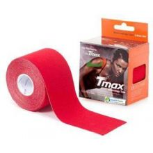 Tmax Kinisiology Tape Cototn Red 5.0cmx5m