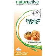 Naturactive Βασιλικος Πολτος Συμπλήρωμα διατροφής 60 Κάψουλας