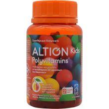 Altion Kids Polyvitamins Με Φυσικά Αρώματα Πορτοκαλιού Και Κερασιού