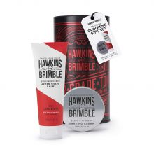 Hawkins & Brimble The Ultimate Grooming Gift Set (Shawing Cream 100ml / After shave Balm 125ml)