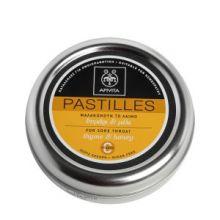 APIVITA - PASTILLES Παστίλιες για τον πονεμένο λαιμό με μέλι & θυμάρι 45g