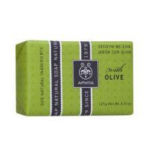 Apivita Natural Soap Σαπούνι με ελιά 125g
