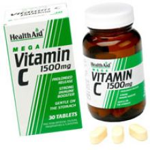 HEALTH AID - Vitamin C 1500mg Prolonged Release tablets 30s