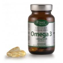 Power Health - Classics Platinum Range Omega 3 1.000 Fish Oil