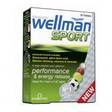Vitabiotics Wellman Sport Συμπλήρωμα Διατροφής για Άνδρες που Αθλούνται 30tabs