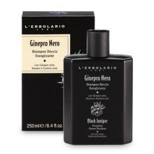 L'erbolario Black Juniper Energising Shower Shampoo Σαμπουάν και Αφρόλουτρο για Άντρες 250ml