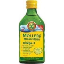 Mollers Cod Liver Oil Μουρουνέλαιο με Φυσική γεύση 250ml