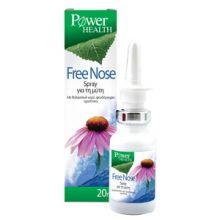 Power Health Free Nose Spray για τη Μύτη με Θαλασσινό νερό και Εχινάτσεα 20ml