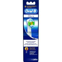Oral-B Ανταλακτικό Βουρτσάκι 3D White 2τμχ