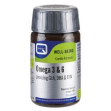 Quest - OMEGA 3 & 6 providing GLA, DHA & EPA plus natural vitamin E 30CAPS
