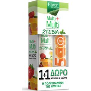 Power Health Multi Multi 24tabs Με Δώρο Vitamin C 500mg 20 tabs