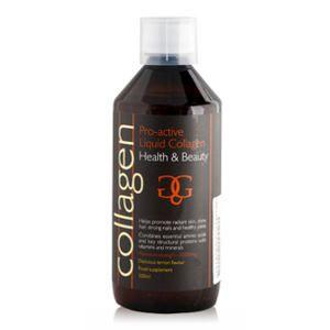 Collagen Pro-Active Υγρό Πόσιμο Κολλαγόνο με Βιταμίνες & Μέταλλα λεμόνι  600ml