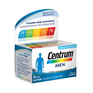 Centrum Men Συμπλήρωμα Διατροφής Με Ειδική Σύνθεση Βιταμινών Και μεταλλικόν Στοιχείων Για Άνδρες  30 δισκία