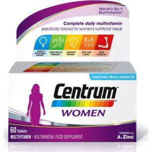 Centrum Women Συμπλήρωμα Διατροφής Με Ειδική Σύνθεση Βιταμινών Και Μεταλλικόν Στοixειων Για Γυναίκες 30 Δισκία